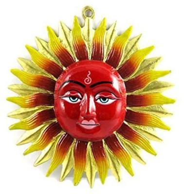 Varanasi Enterprises vastu / feng shui / yantra surya shakti for manipulate outside negative energy Showpiece  -  19 cm