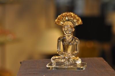 Sutra Decor Parashnath God Idol Showpiece  -  3.7 cm