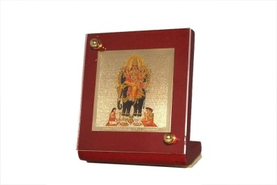 Sitare Vishwakarma Swizz made 24 kt Gold Foil Showpiece  -  6.0 cm