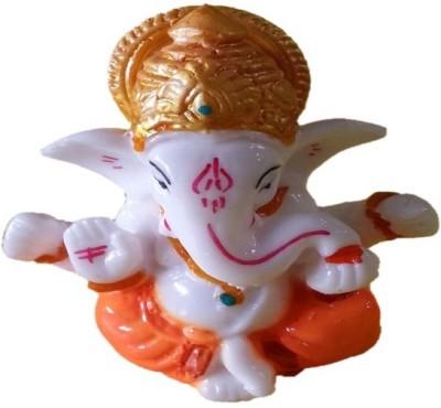 AA Ganesh Idol3 Jai Ganesh Showpiece  -  3 cm