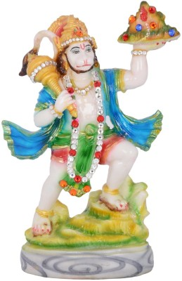 Dharmaraj Links Bajrangbali Small Showpiece  -  24 cm(Stoneware, Multicolor)