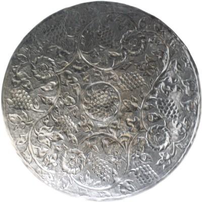 Reverence Embossed Metal Disc Nrv Showpiece  -  66 cm