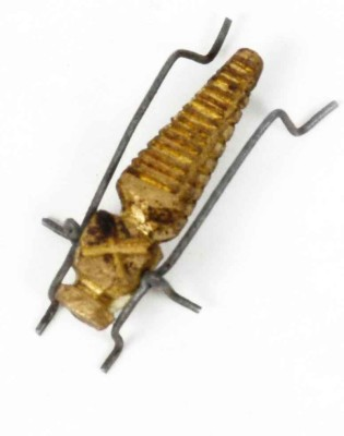 KHUSHI HANDICRAFTS BRASS INSECT Showpiece  -  0.5 cm