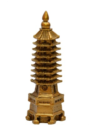 Vastu Art Vastu / Feng Shui / Education Tower For Academic Success For Child's Study Table Showpiece  -  15 cm
