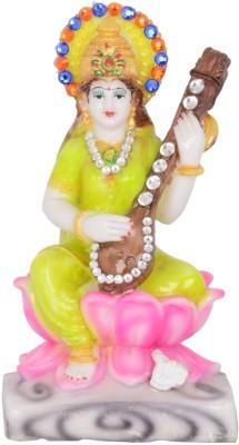 Dharmaraj Links Maa Saraswati Small Showpiece  -  18 cm