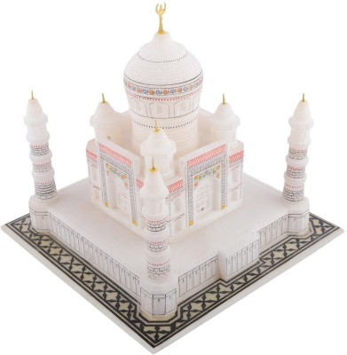 Kaushal Creation White Marble Taj Mahal 6 inches Showpiece  -  13 cm