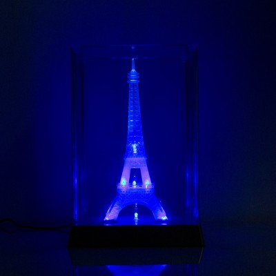 Smile2u Retailers Lightening Eiffel Tower Showpiece  -  31 cm