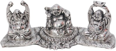 Gulshan Arts Crafts Laughing Buddha Showpiece  -  5 cm