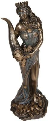 Craftghar Lady Fortuna Showpiece  -  18 cm