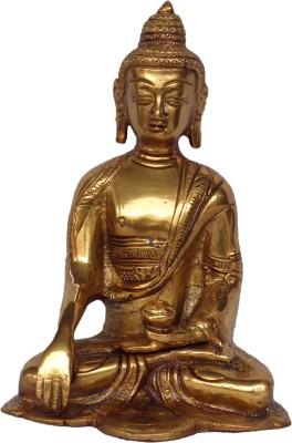 Quality Mart Gautam Buddha On Hand Kalash Showpiece  -  16.1 cm