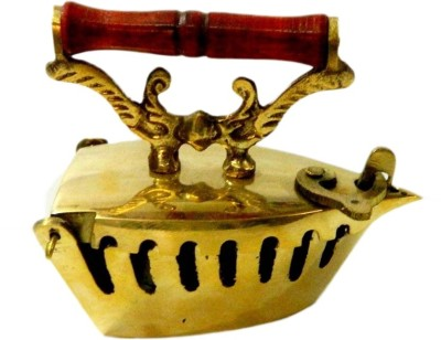 Arsalan Handcrafted Brass Iron as Ashtray and Deco 6 cm Showpiece  -  6 cm