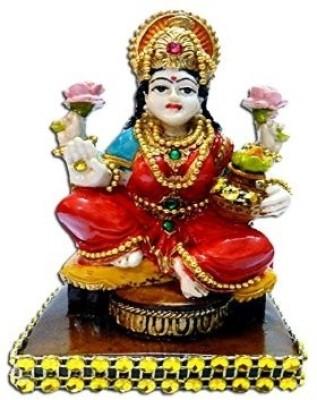 Anant Mata Dhan Laxmi Godess Idol Showpiece  -  10 cm