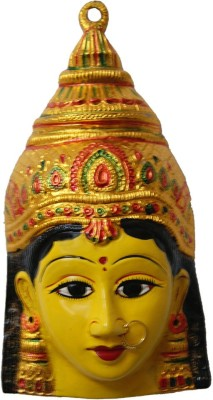 Divya Mantra Durga Maa Face Wall Hanging Showpiece  -  24 cm
