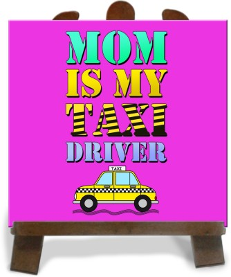 Tiedribbons Gifts For Taxi Driver Mom Tile Showpiece  -  28 cm(Ceramic, Multicolor)