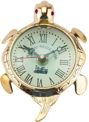 Vintage Crafts Turtle Clock Showpiece  -  8 cm