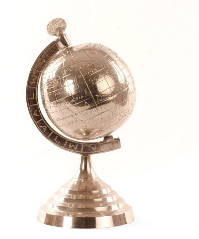 E-Studio Showpiece  -  26 cm(Silver, Multicolor)