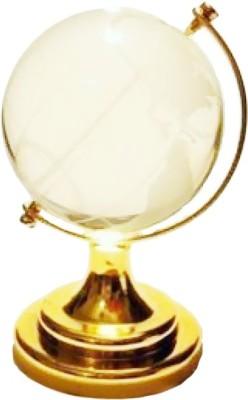 Anjalika Feng Shui Crystal Globe For Success Big Showpiece - 11 cm