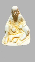 Swarnim Jewellers Sai Baba Showpiece  -  6.25 cm(Polyresin, Multicolor)