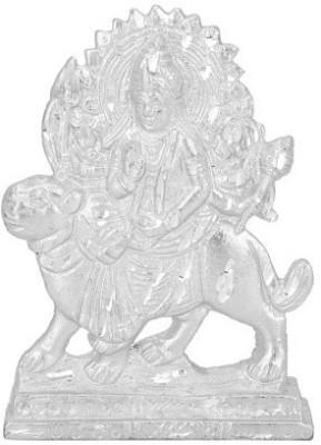 Divya Mantra Goddess Durga Idol Showpiece  -  10 cm