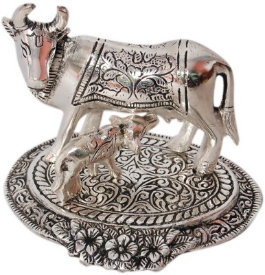 Gulshan Arts Crafts cow & child Showpiece  -  5 cm