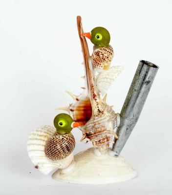 KHUSHI HANDICRAFTS PEN STAND Showpiece  -  10 cm