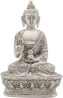 StatueStudio Buddha Showpiece  -  17.78 cm(Brass, Multicolor)