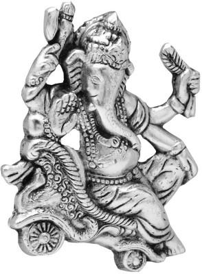 Traditional Rajasthan Lord Ganesha Showpiece  -  12 cm