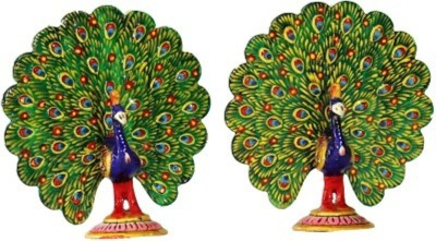 Gaura Art & Crafts Showpiece  -  10 cm(Steel, Multicolor)