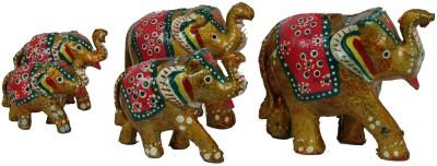 Surya Traditional Elephant Y-5 Showpiece  -  12 cm