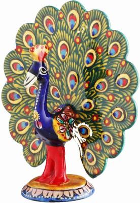 Aashirwad Dancing Peacock Showpiece  -  3.5 cm