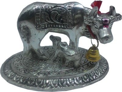 SportsHouse Handicraft Cow With Calf Showpiece  -  6 cm