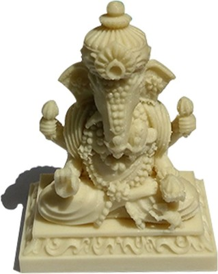 Fancy Interio Glow In Dark Thailand Ganesha Showpiece  -  9 cm