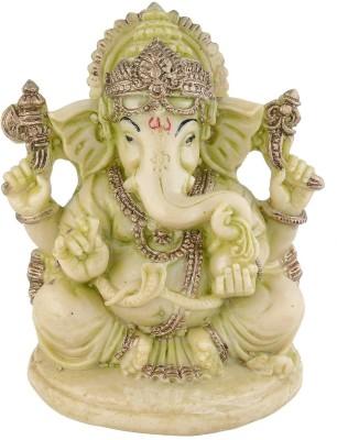 EtsiBitsi EtsiBitsi Divine Ganesha in Antique Look Showpiece  -  9.38 cm