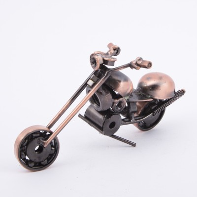 Urban Monk Creations Umc Scrap Metal Bike03 Showpiece  -  8 cm