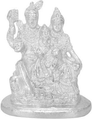 Divya Mantra Shiv Parivar Idol Showpiece  -  11 cm