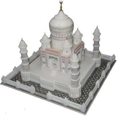 Pooja Creation Taj Mahal Gifterd And Sharing Of Love Showpiece  -  34 cm