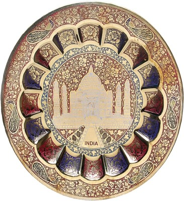 MA Design Hut Decorative Wall Hanging Plate - Taj Mahal Showpiece  -  23 cm