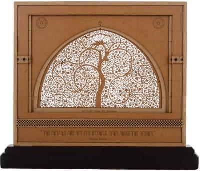 Kapasi Handicrafts Wooden Sidi Saiyyed Mosque (Jali) Showpiece  -  28.5 cm