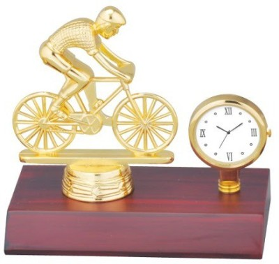 Sale Funda Bicycle With Clock Showpiece  -  10 cm