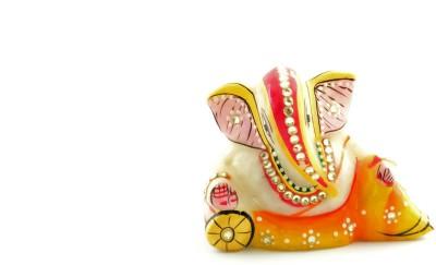 Govindam Seth Ganesh Showpiece  -  6 cm