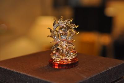 Sutra Decor Surya Ganesh God Showpiece  -  3.75 cm