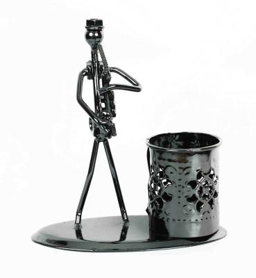 KHUSHI HANDICRAFTS MUSICAL PEN STAND Showpiece  -  13.5 cm