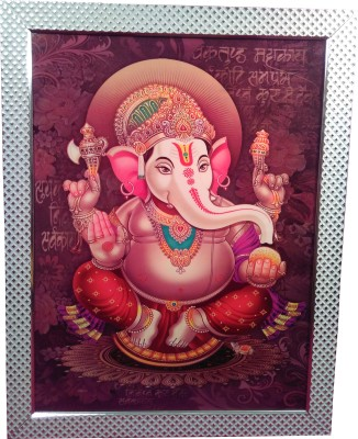 Giftvalley Exclusive ganesh frame wall hanging Showpiece  -  69 cm
