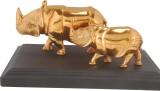 Animal Rhinoceros-Gold plated Showpiece ...