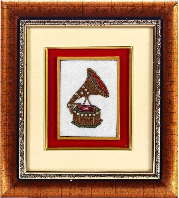 Aapno Rajasthan Gramaphone Design Showpiece  -  28 cm