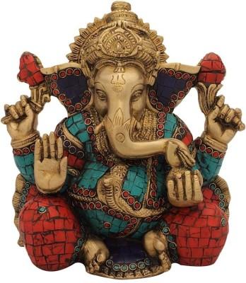 StatueStudio Ganesha Stone Showpiece - 22.86 cm
