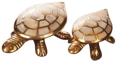 Being Nawab Oyster Shell Turtle Combo Fengshui Showpiece  -  3 cm