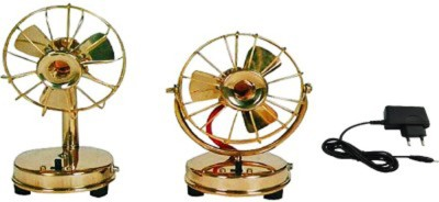 Homedesires Showpiece  -  20 cm(Brass, Gold)