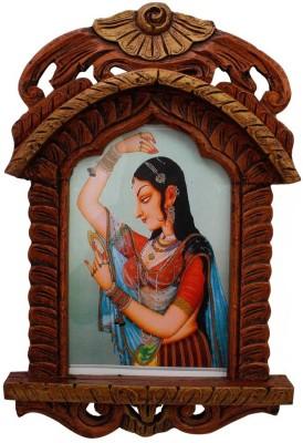 Pioneerpragati Wooden Jharokha(48 cm x 28 cm Handcrafted)