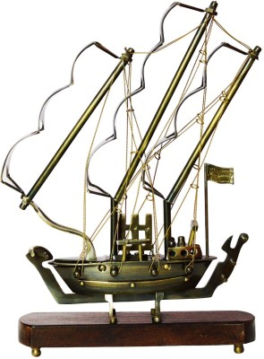 Right Alchemy Brass Ship Showpiece  -  37 cm